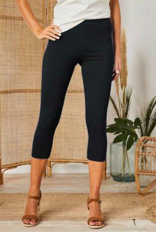 Modern női minőségi háromnegyedes leggings 2 darabos csomagban
