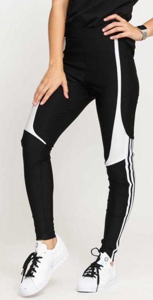 Adidas leggings lenyűgöző fekete-fehér dizájnban