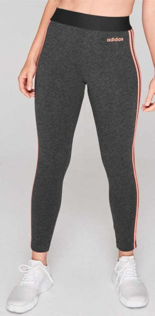 Kötött szürke sport leggings Adidas